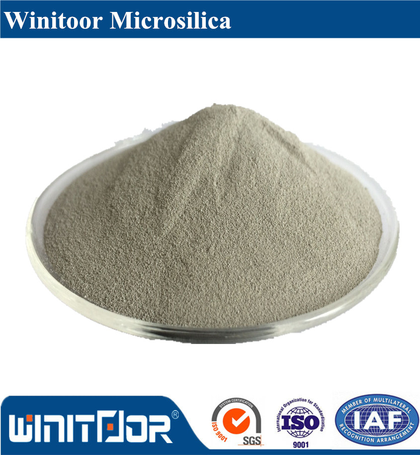 85%min  Microsilica/Silica fume use for ready-mix concrete