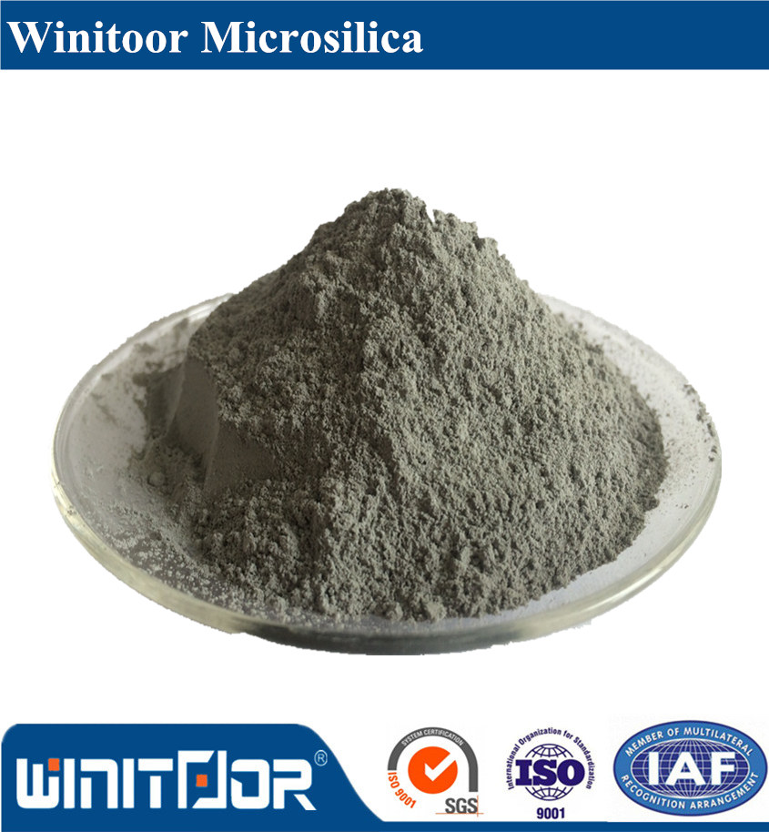 Undensified Micro silica fume use for Emery wear-resisting flooring